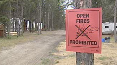 The province previously announced a fire ban in eastern parts of Manitoba.