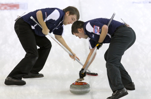 U.S. men's curling team