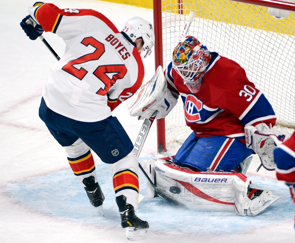 In Pictures Habs Fall 2 1 To Panthers At Home Ctv News
