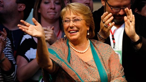 Bachelet wins back Chile's presidency