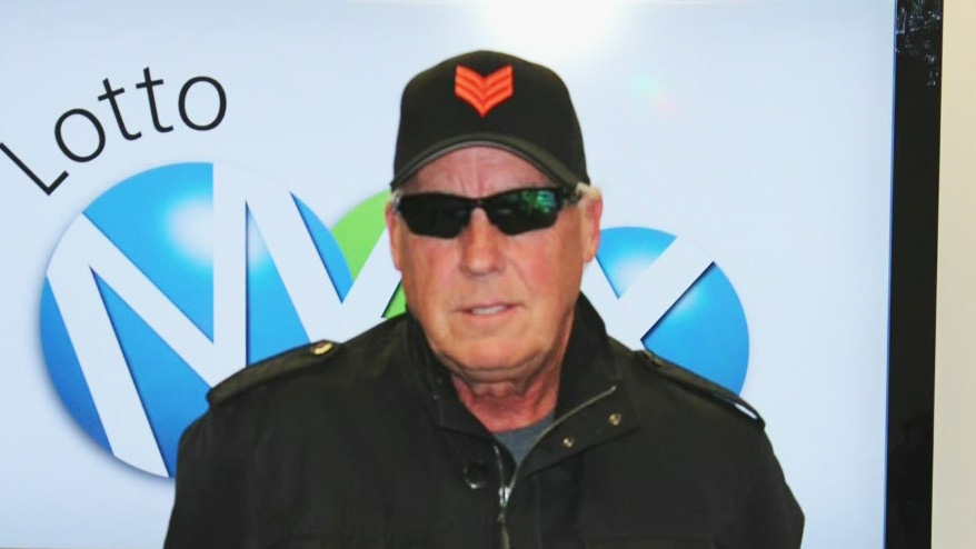 Tom Crist from Calgary, Alta., won a $40-million lottery jackpot and says he is giving every cent to charity.