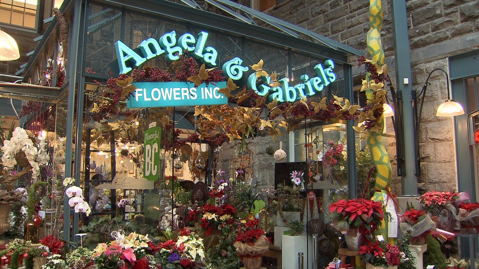 The owners of Angela & Gabriel's Flowers Inc. are among a number of small business owners whose HSBC accounts are being closed. Dec. 16, 2013. (CTV)