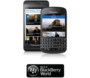 BlackBerry10 CTV News GO App