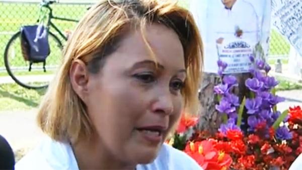 Lillian Villanueva says she still misses her son, killed three years earlier.