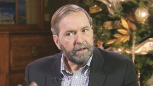 Tom Mulcair talks about his question period style