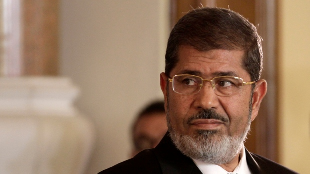 Morsi to be tried for conspiracy: state media
