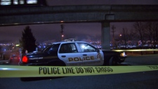 A New Westminster police cruiser is seen in this undated file photo. (CTV)
