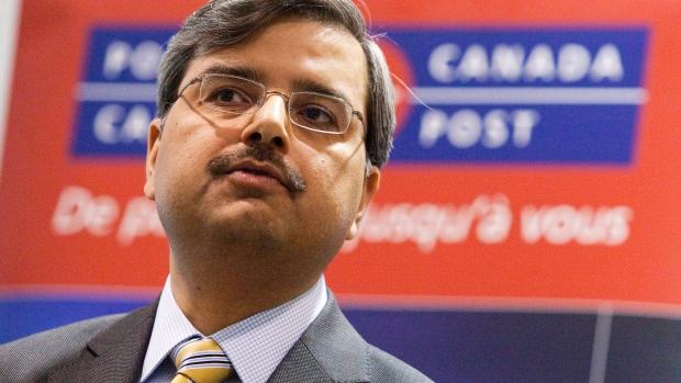 Deepak Chopra Canada Post CEO