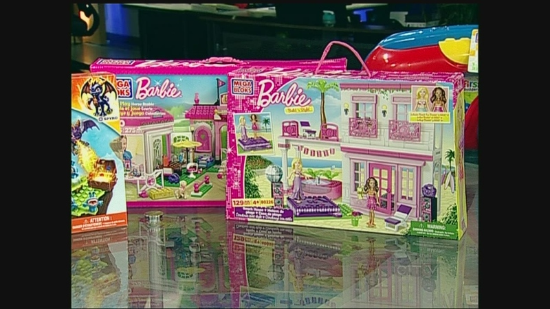 Canadian toymaker Mega Bloks brought in a big dona