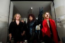 Terri-Jean Bedford, Nikki Thomas, Valerie Scott,