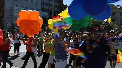 The Capital Pride Parade attracts thousands of people to downtown Ottawa. This year's parade will be held, Sunday, Aug. 28, 2011.