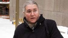 Pamela Mattock Porter leaves court after her reque