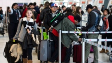 Pearson airport holiday travel