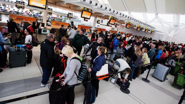 Pearson International Airport lineups