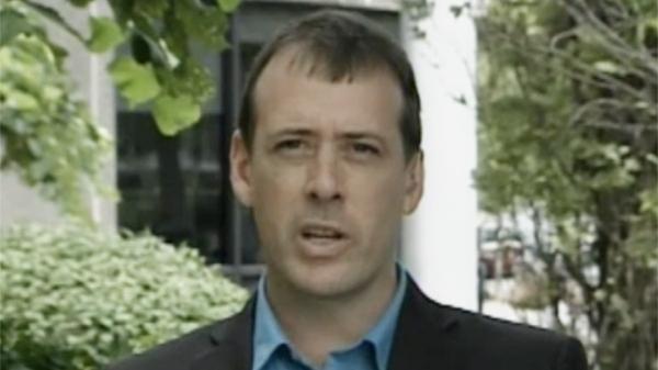 NDP MP for Vaudreuil-Soulanges Jamie Nicholls (Aug. 9, 2011)