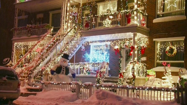 CTV Montreal: Christmas lights in Verdun | CTV Montreal News
