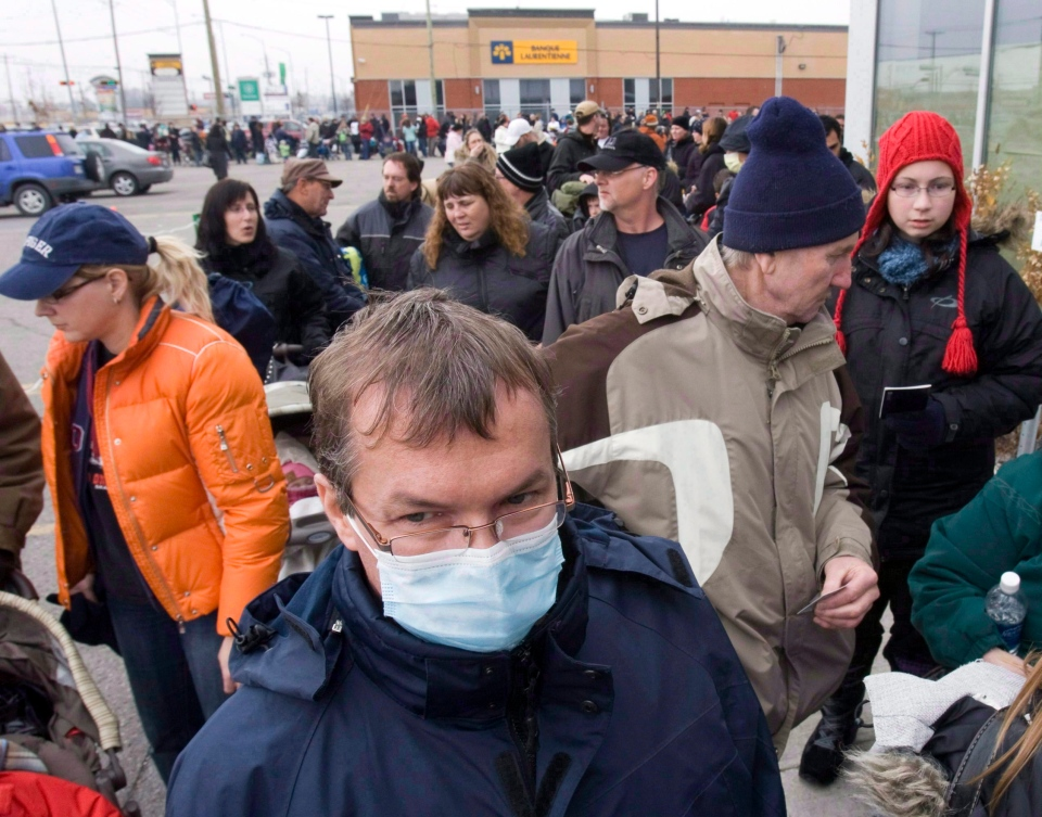 H1N1, or swine flu, has been circulating the globe for about five years and swept across North America in 2009. (Ryan Remiorz / THE CANADIAN PRESS)