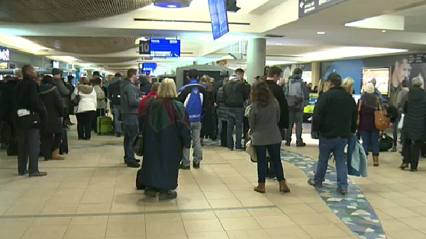 Bad Weather Blamed For Delays At Edmonton Airport Ctv
