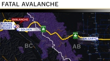Fatal avalanche