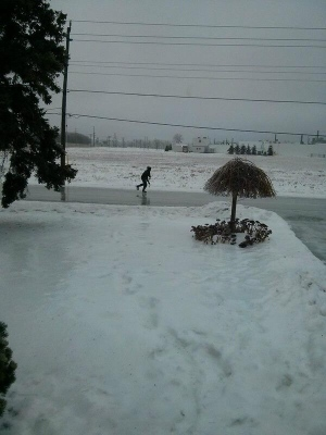 Winter Storm in Ontario