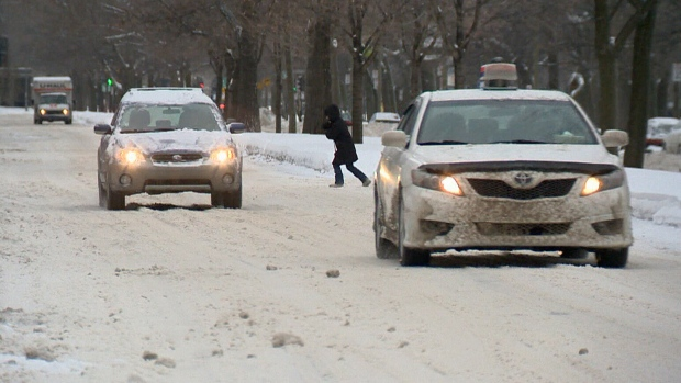 CTV National News: Snow, ice and freezing rain
