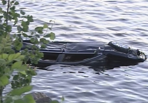 The car hit a guardrail and some trees before plummeting into the Joseph River on Thursday, July 3.