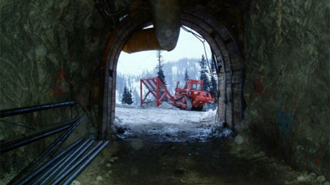 A file photo shows mining exploration at Ruddock Creek, B.C.