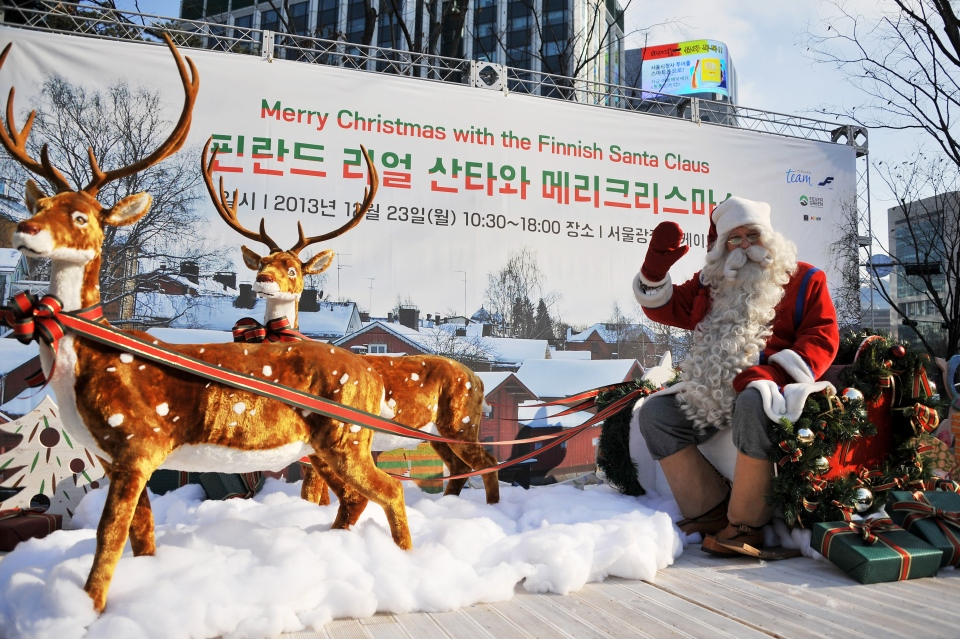 Finnish Santa Claus Wants To Go Global All Year Round