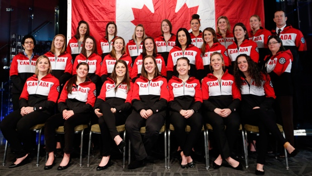 Canada finalizes women's hockey roster