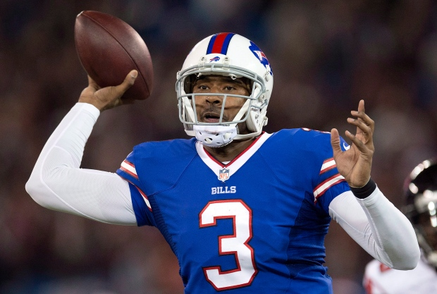 Buffalo Bills quarterback EJ Manuel