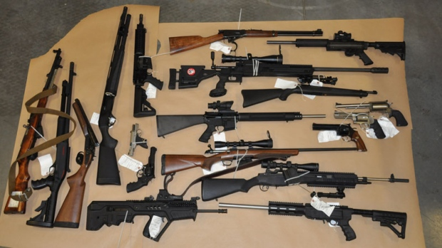 Bulk of illegal guns in BC from domestic supply