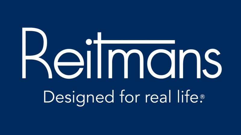 The corporate logo of Reitmans Canada is shown. (THE CANADIAN PRESS/Handout)