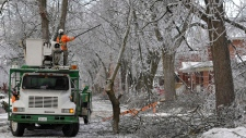 Work continues to restore power in Toronto