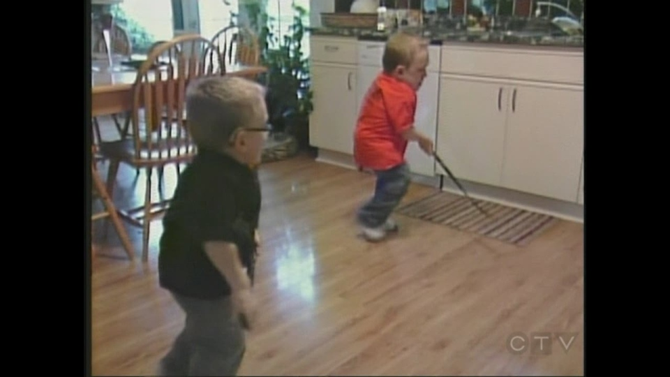 Zane and Luke Braun of the Wingham area are trying an experimental treatment for Morquio syndrome.