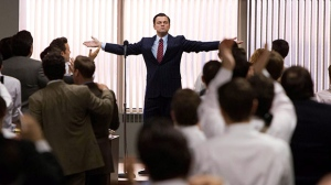 Leonardo DiCaprio as Jordan Belfort in a scene from Paramount Pictures Canada's 'The Wolf of Wall Street'