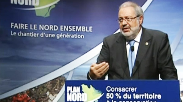 Quebec Environment Minister Pierre Arcand mapped out the no-development zones Friday.