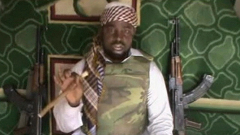 Unverified January 2012 image of Boko Haram leader Abubakar Shekau.  (AP)