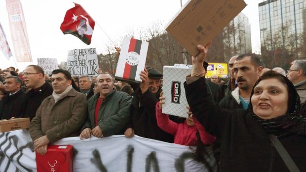 Corruption probe in Turkey