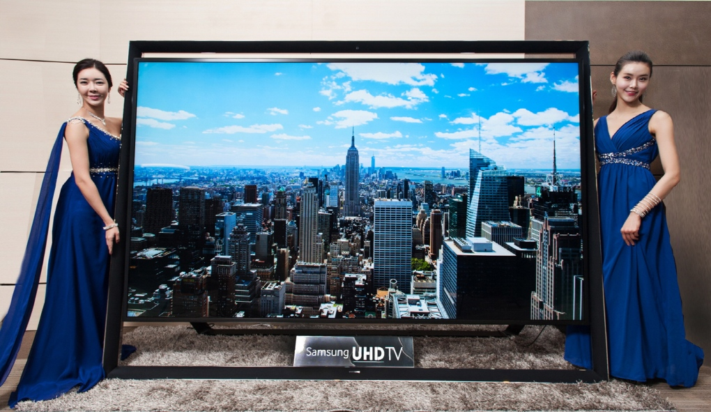 Samsung launches 110-inch UHD TV in South Korea