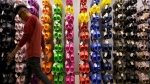 A Crocs store inside the Beverly Center shopping mall in Los Angeles, on April 9, 2010. (Damian Dovarganes / AP)
