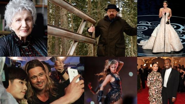 Top 10 entertainment stories