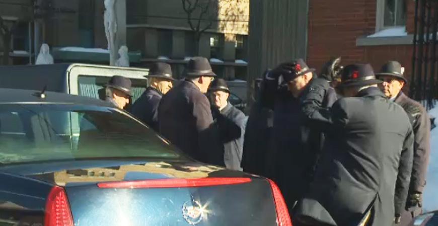 More scenes from the Vito Rizzuto funeral Monday. (CTV Montreal Dec. 30, 2013)