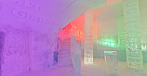 The cafe will be open at Quebec City's Ice Hotel e
