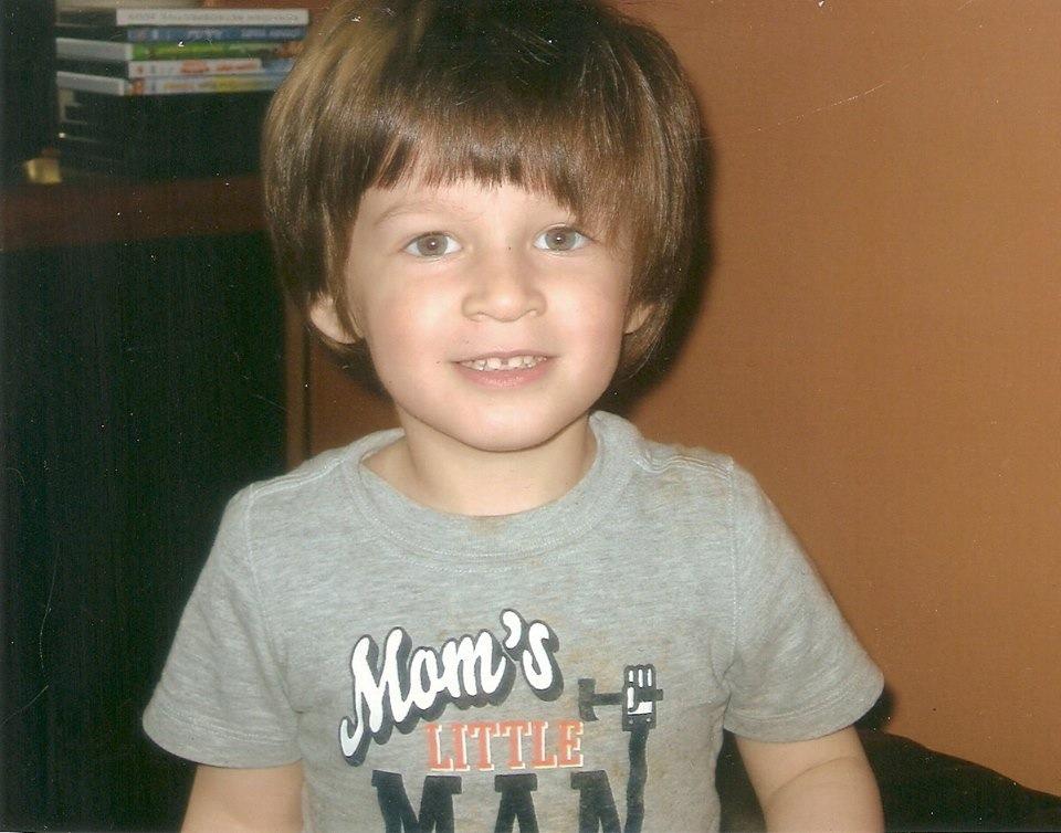 Robbie Reiner, 5, is seen in this photo taken from Facebook.