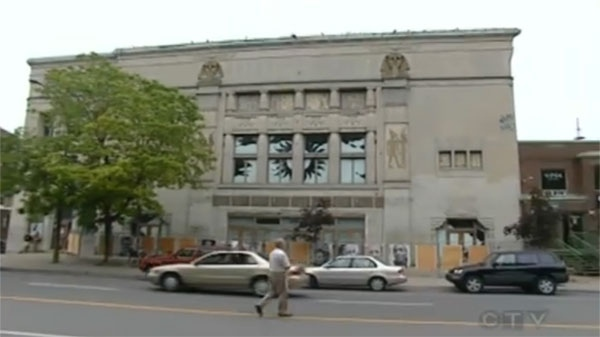 The old Empress Theatre has become an eye sore after years of neglect.