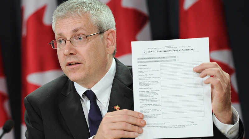 New Democratic Ethics critic Charlie Angus takes part in a press conference at the National Press Theatre in Ottawa, on Monday, Aug. 15, 2011. (Sean Kilpatrick / THE CANADIAN PRESS)