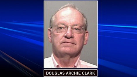 Douglas Archie Clark is accused of faking cancer to scam people. (CTV)