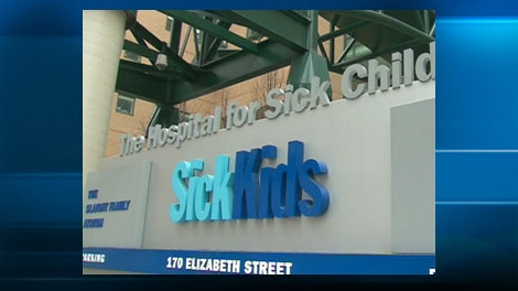 Toronto's Hospital for Sick Children, also known as SickKids.