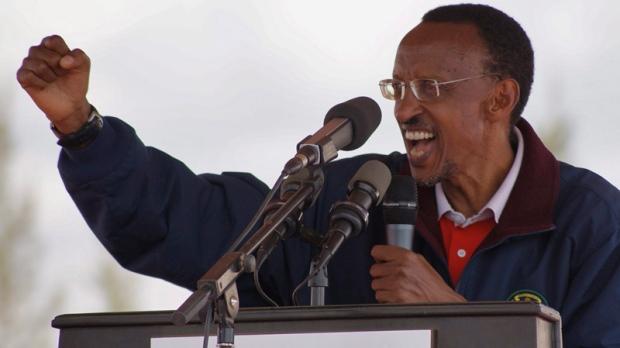 Rwandan president Paul Kagame in Aug, 2010
