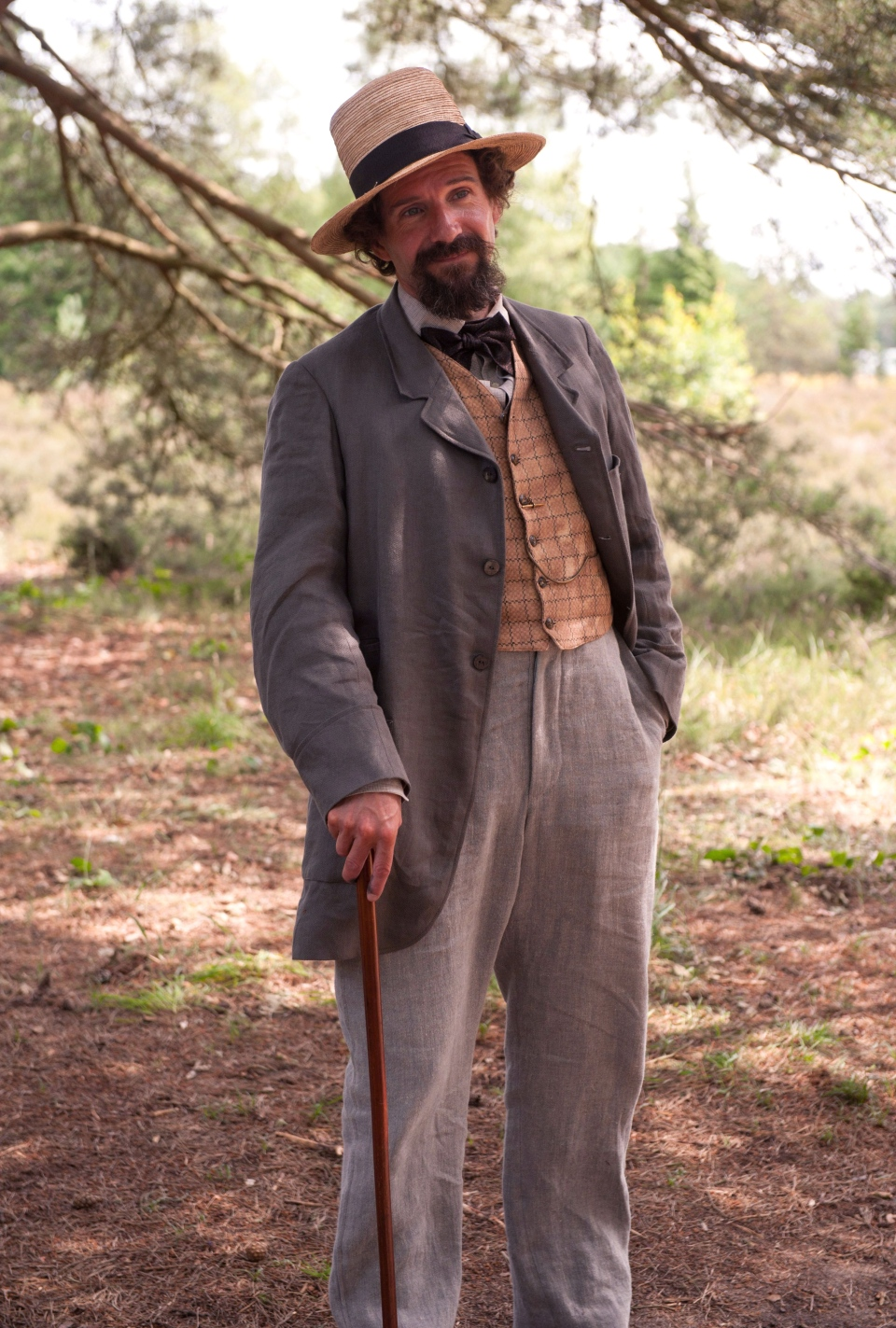 Ralph Fiennes as Charles Dickens in a scene from Mongrel Media's 'The Invisible Woman'
